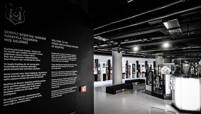 Beşiktaş Müzesi'nin tanıtımı ünlü oyuncudan
