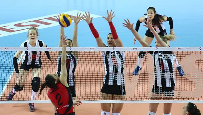 Beşiktaş, Vakıfbank karşısında mağlup