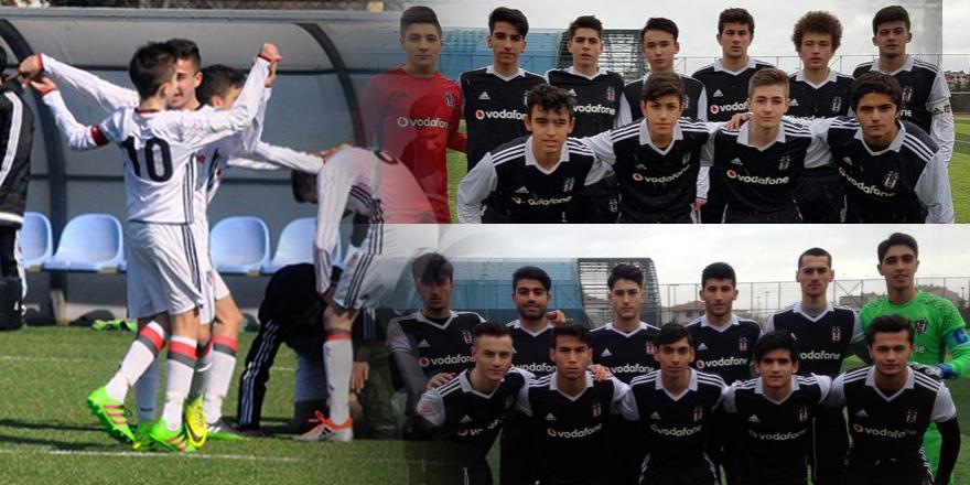 Akademi takımları Başakşehir karşısında 9 golle 3 maçın da galibi!