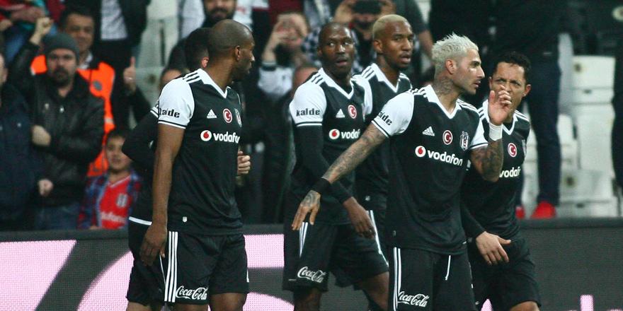 Beşiktaş'ın 5 oyuncusu 10 alanda zirvede