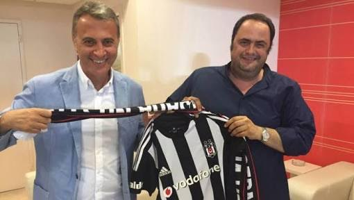 Orman ve Marinakis'in yakın dostluğu. Beşiktaş forması istemişti!