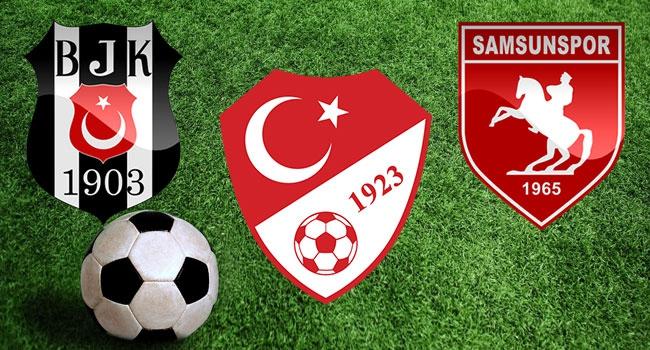 Beşiktaşlı taraftarlardan Samsunspor'a destek