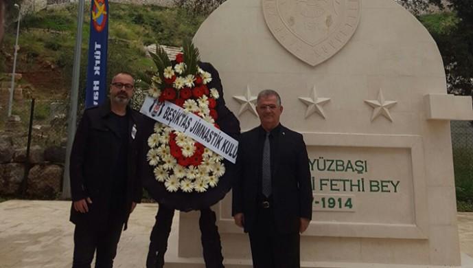 Beşiktaş'ın kurucularından Fethi Bey anıldı