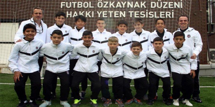 BJK'nin U-13 takımı Kinder Cup yolcusu