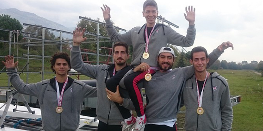 Kürekte Türkiye şampiyonuyuz!