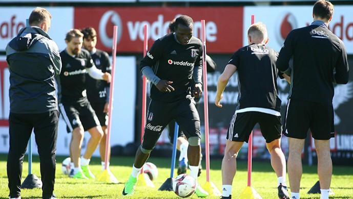 Beşiktaş'ta Olympiakos maçı hazırlıkları başladı