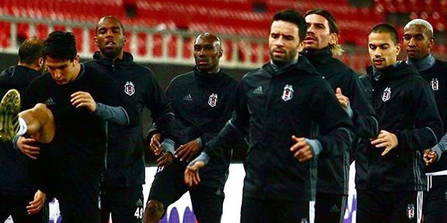 Beşiktaş son idmanla kampa girdi