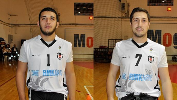 Beşiktaşlı oyunculara milli davet