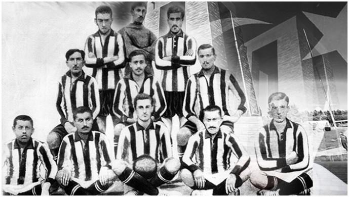 Beşiktaş'ın Çanakkale şehitleri. Futbol takımının neredeyse tümü!