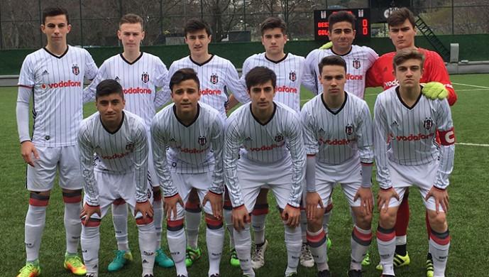 Beşiktaş'tan Gölcük'e 9 gol