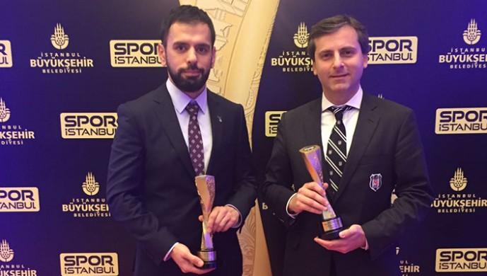 Spor İstanbul'dan Beşiktaş'a 2 ödül birden