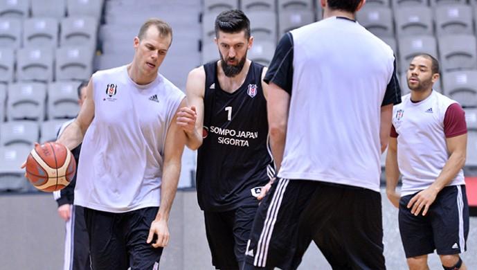 Beşiktaş'ta hazırlıklar sona erdi