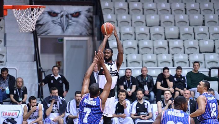 Beşiktaş, Best Balıkesir'i 84-75 mağlup etti