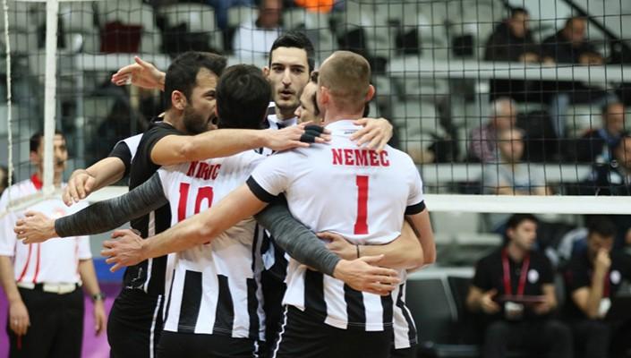 Beşiktaş Erkek Voleybol, MSK Urfa'yı 3-0 yendi