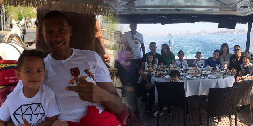 Beşiktaş'ın Brezilyalılarından Büyükada çıkarması