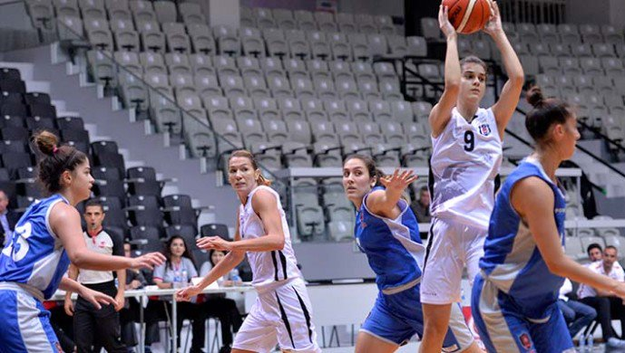 Beşiktaş:78 Mersin BŞB:74
