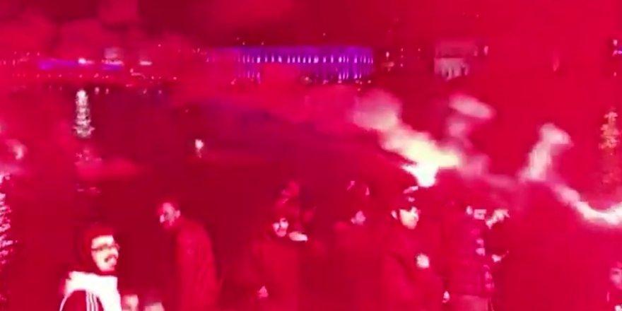Lyon'a gece yarısı şoku! (VİDEO)