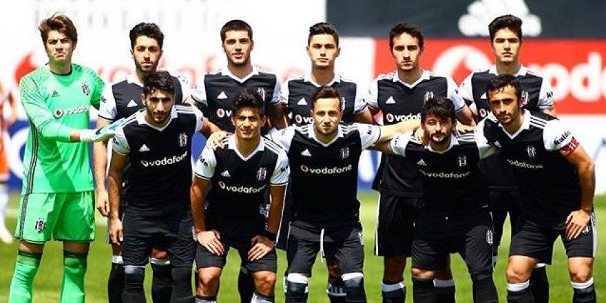 Beşiktaş'ın gençlerinden Adana'ya 3 gol