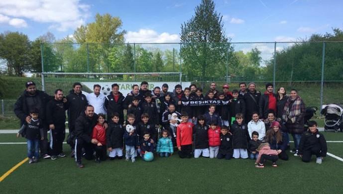 Beşiktaş U11 Futbol takımına Baden'den destek