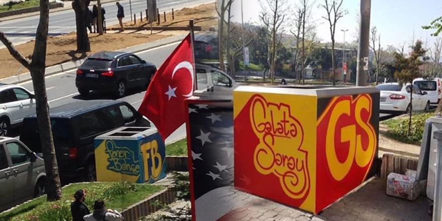 Beşiktaş'ta tepki çeken konteynerler kaldırılıyor