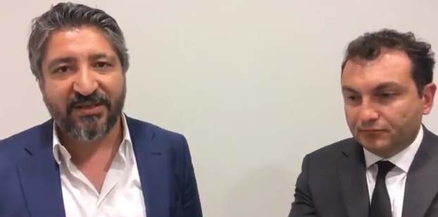 ÖZEL   Övünç Özdem ve Serdar Sarıdağ'dan maç öncesi son yorumlar (VİDEO)