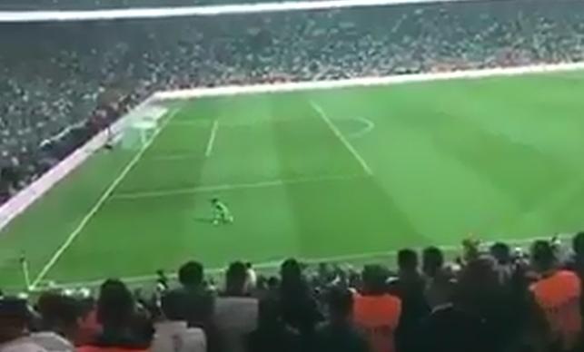 """""""Beraberliğe sevinecek değiliz"""" diyen Volkan'ın gol sevinci (VİDEO)"""