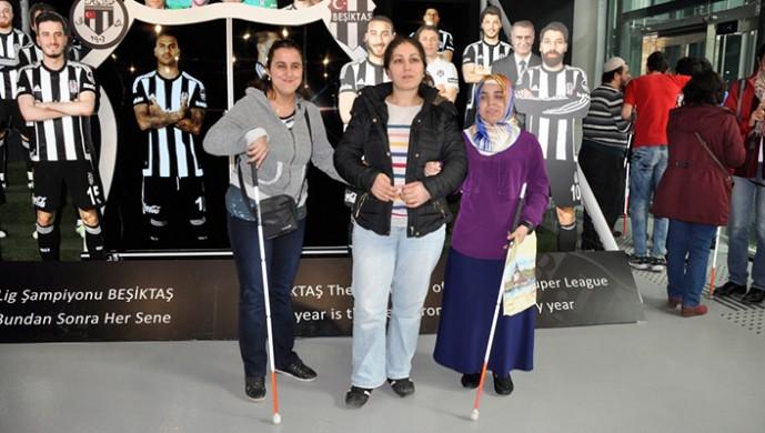 Beşiktaş JK Müzesi, Engelliler Haftası'nda engelli vatandaşlara ücretsiz!