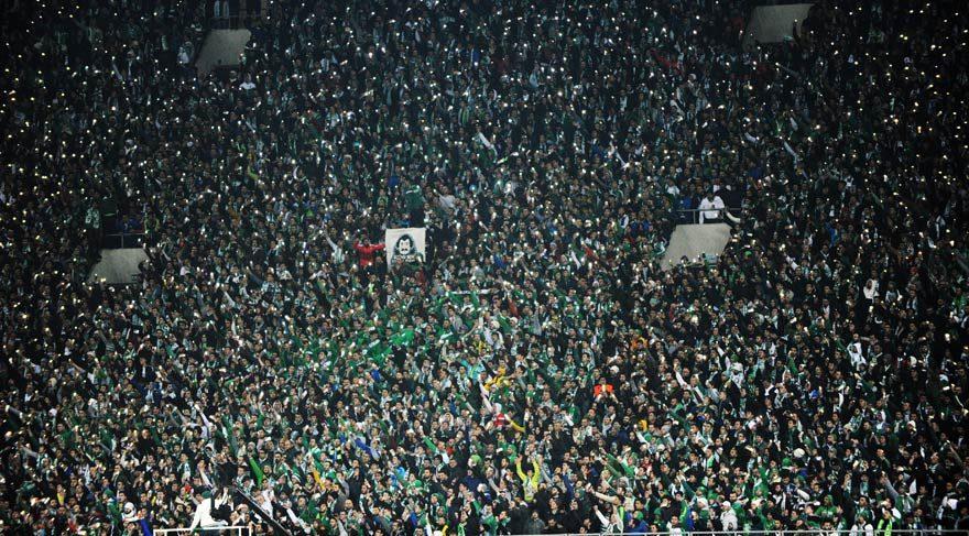 Beşiktaş maçına yoğun ilgi