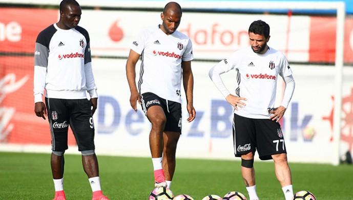 Beşiktaş hazırlıklarını sürdürüyor... İşte antrenmandan notlar!