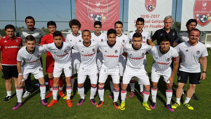 Trabzonspor:1 Beşiktaş:1 (U-15)
