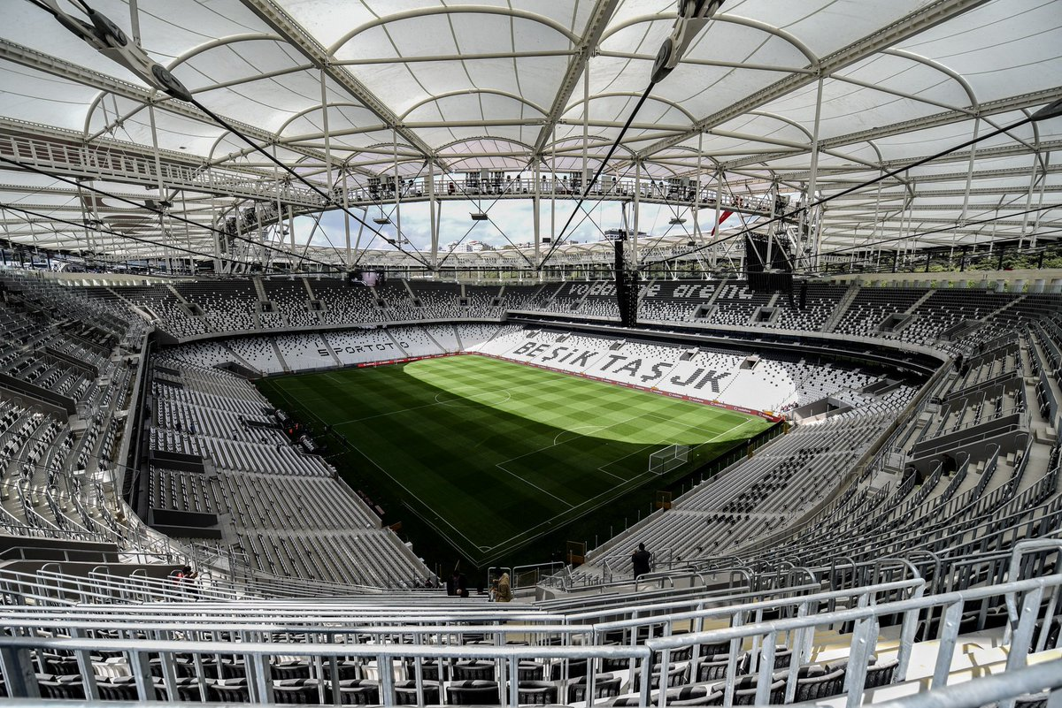 Vodafone Arena'da Beşiktaş ''defilesi''