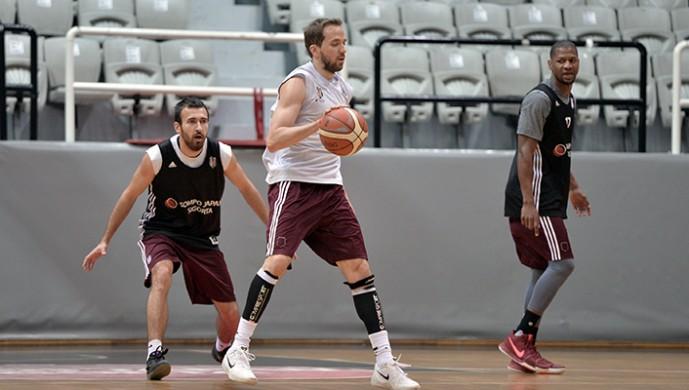 Beşiktaş'ta play-off hazırlıkları sürüyor