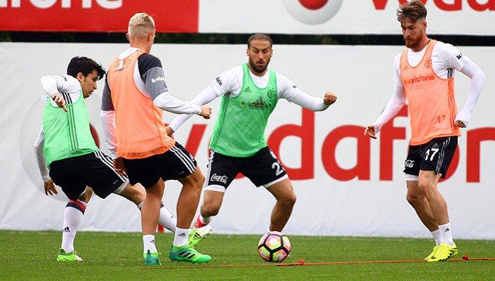 Beşiktaş, Kasımpaşa hazırlıklarını tamamladı