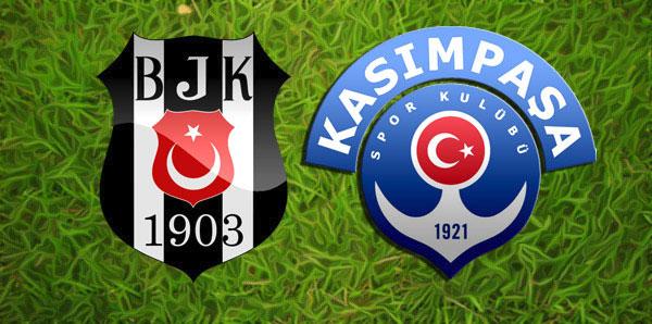 Beşiktaş, Kasımpaşa'yı mağlup edemiyor!