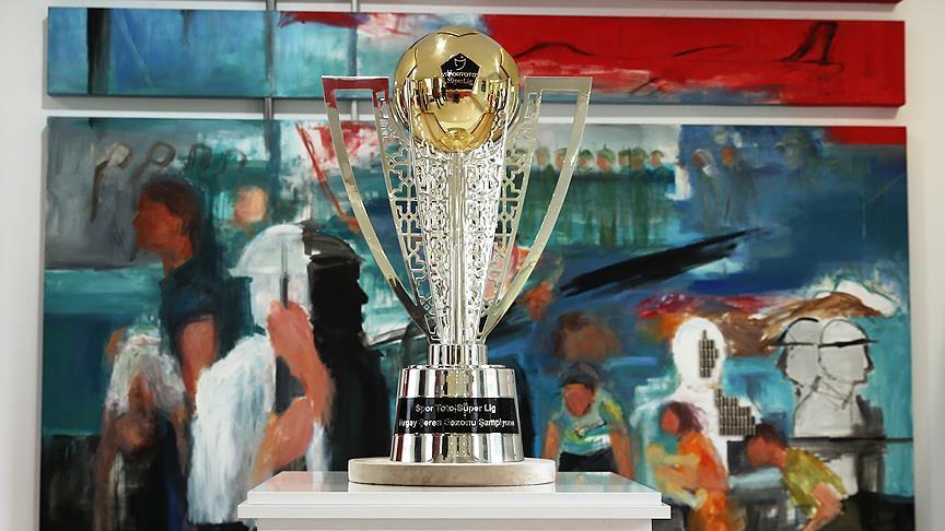 İşte şampiyonluk kupası!