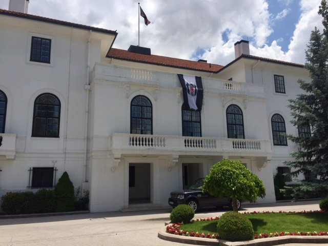 İngiliz Büyükelçi'nin Beşiktaş aşkı!
