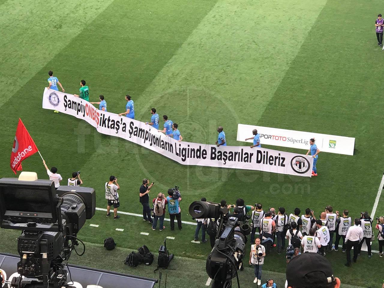 Osmanlıspor'dan Beşiktaş'a tebrik
