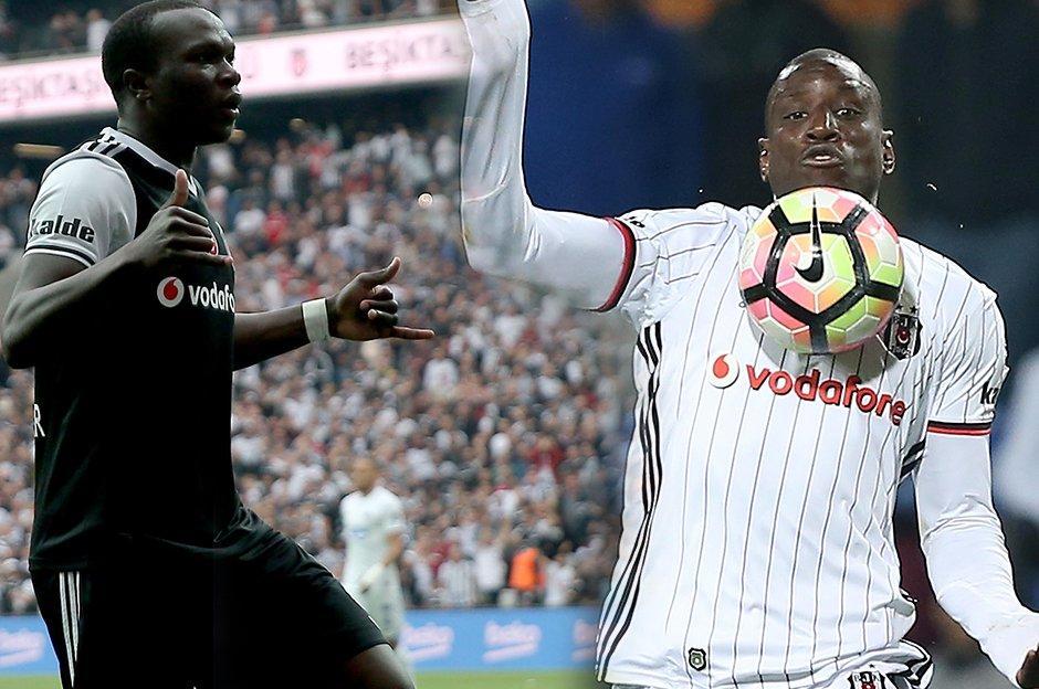 Aboubakar ve Demba Ba'da sorun var!