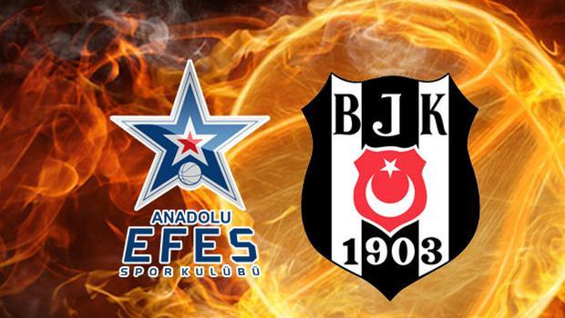 Anadolu Efes-Beşiktaş Sompo Japan maçı saat kaçta, hangi kanalda?