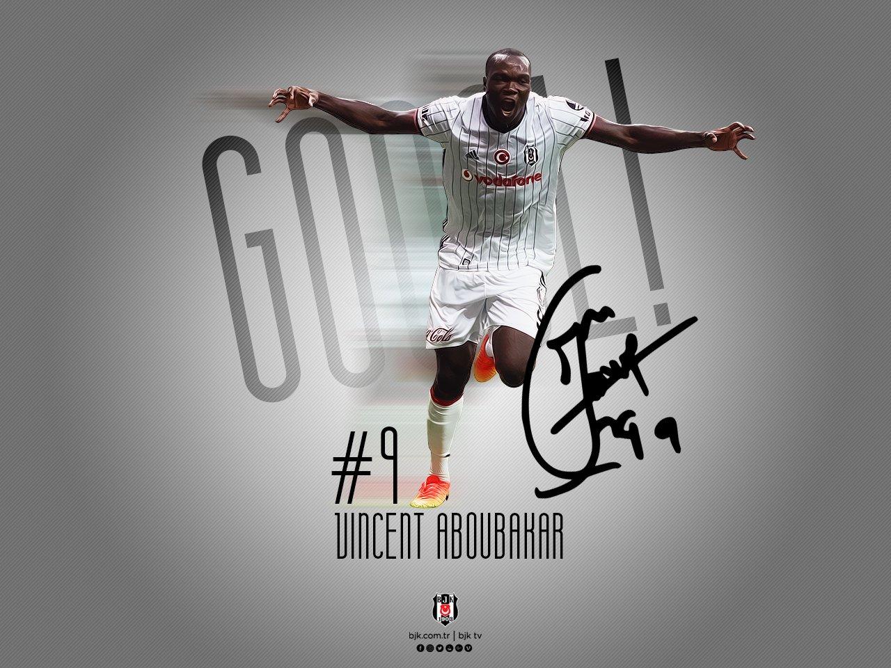 Aboubakar golle tanıştı!