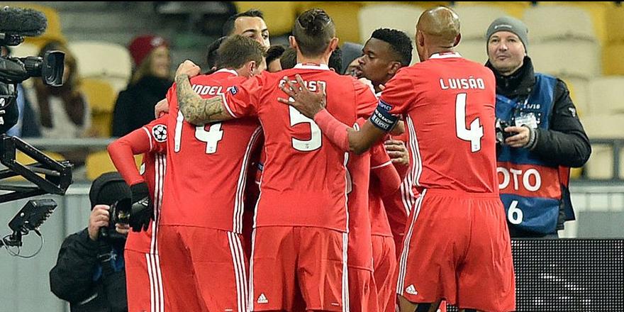 Benfica kadrosu açıklandı