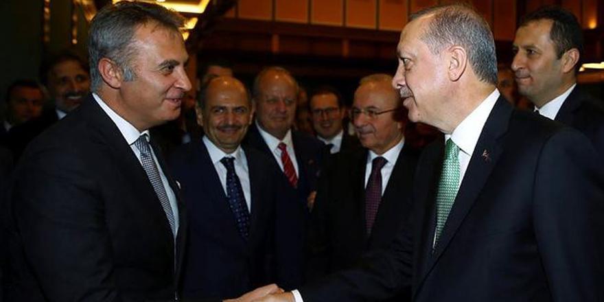 Cumhurbaşkanı'ndan Fikret Orman'a tebrik
