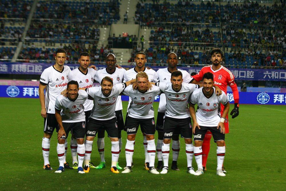 Beşiktaş-Schalke 04 maçından kareler!