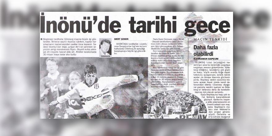 TARİHTE BUGÜN | 19 yıl önce İnönü'de tarih yazıldı