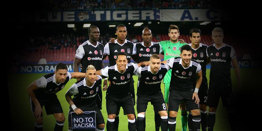 Beşiktaşlı futbolculardan Caner'e destek