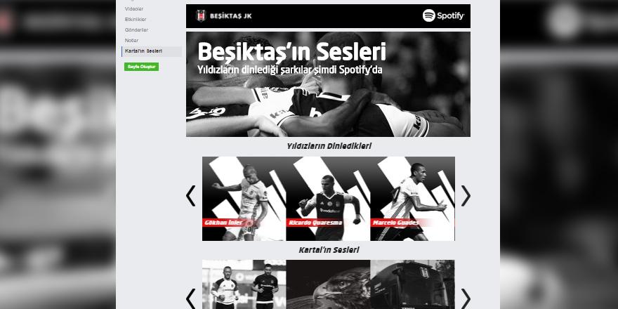 Spotify'dan Beşiktaşlı müzik severlere müjde