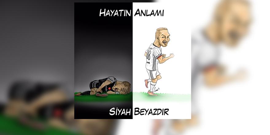 Karikatürist Caner Demircan'dan Caner Erkin karikatürü