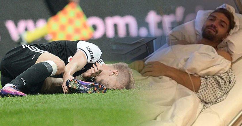 Ajans Beşiktaş dün yazmıştı! Caner'in sakatlığının perde arkası...