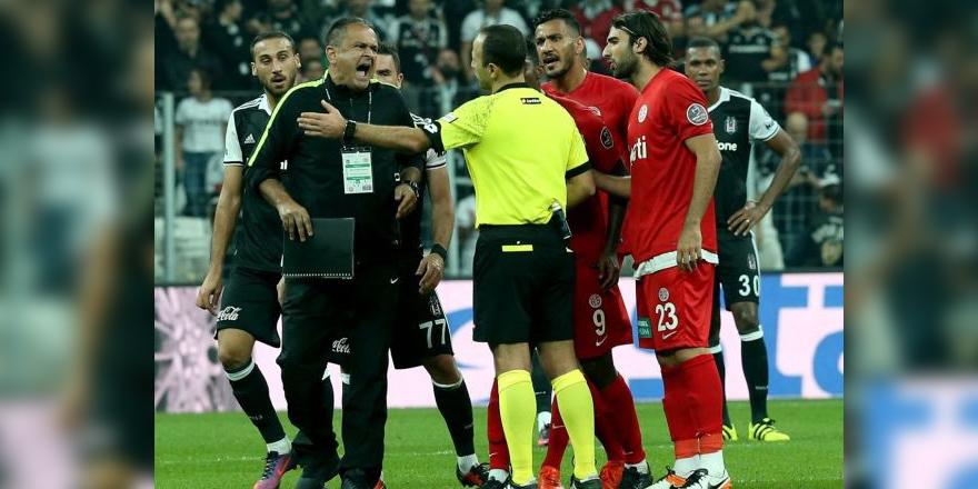Beşiktaş maçındaki küfüre ceza