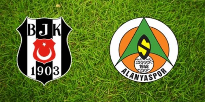 Beşiktaş - Alanyaspor maçının muhtemel 11'leri